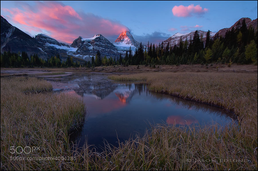 Photograph Mt Assiniboine by Jason Edlund on 500px