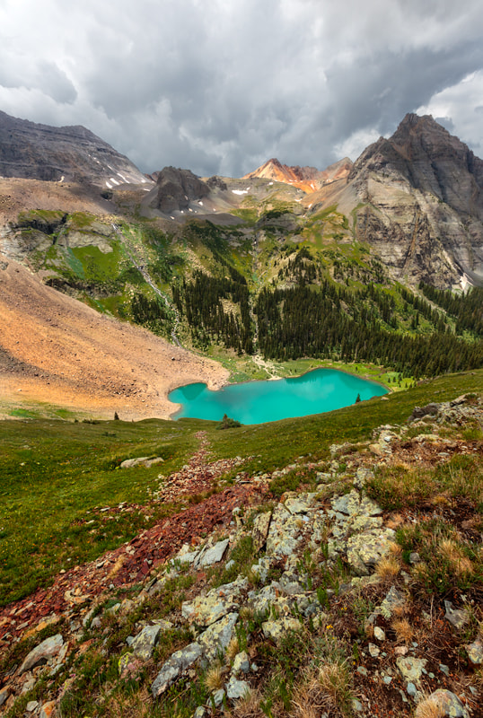 Photograph Lower Blue Lake by Nate Miller on 500px