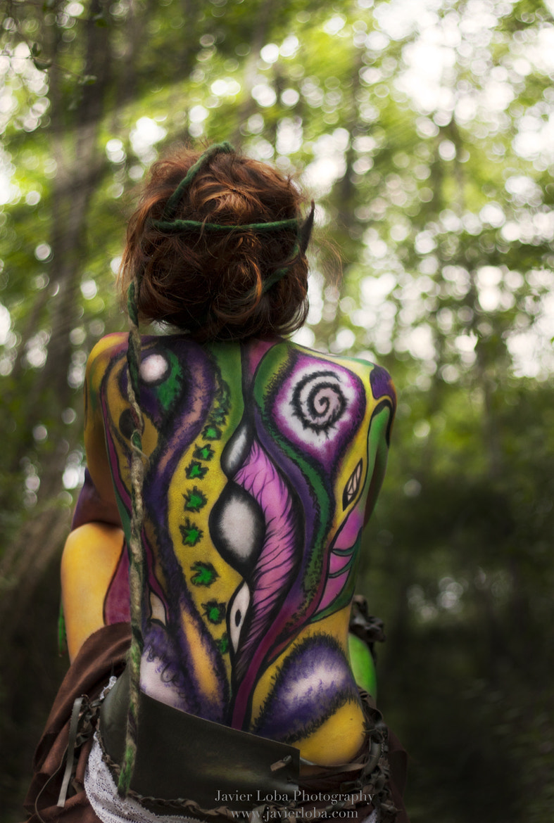 Photograph Psychedelic nymph II by Javier Loba on 500px