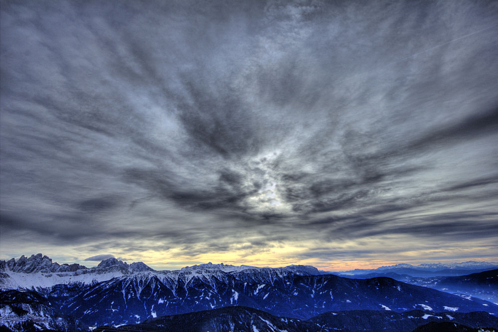 Photograph sunset above sudtirol by giorgio gherardi on 500px