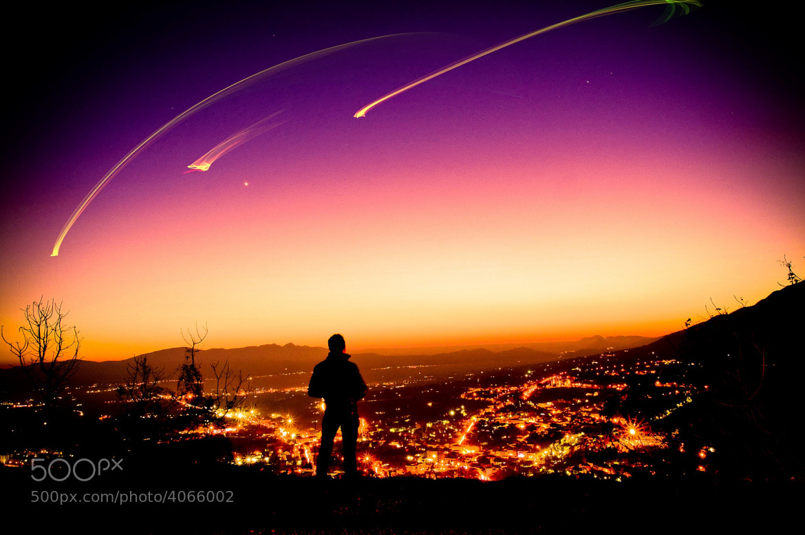 Photograph Shooting stars by Simone Ciliberti on 500px
