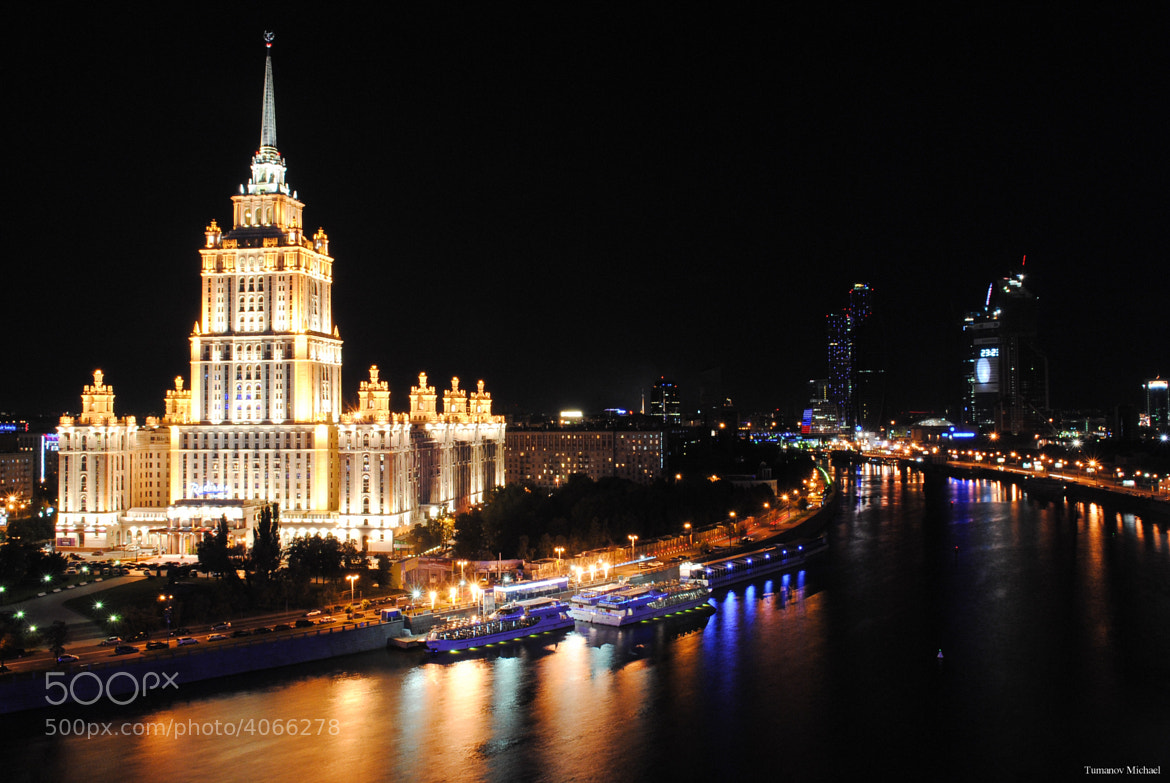 Photograph Stalins gold in Moscow by Michael Tumanov on 500px