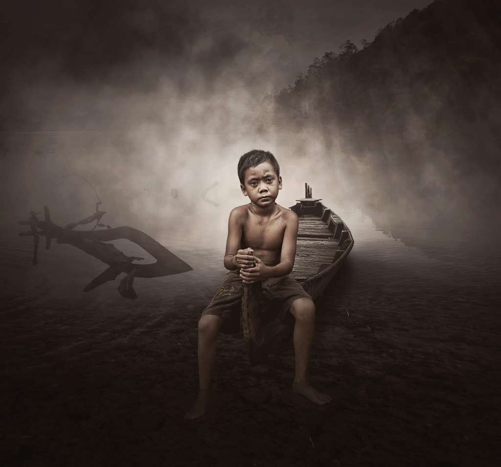Photograph swamp boy by Teuku Jody  Zulkarnaen on 500px