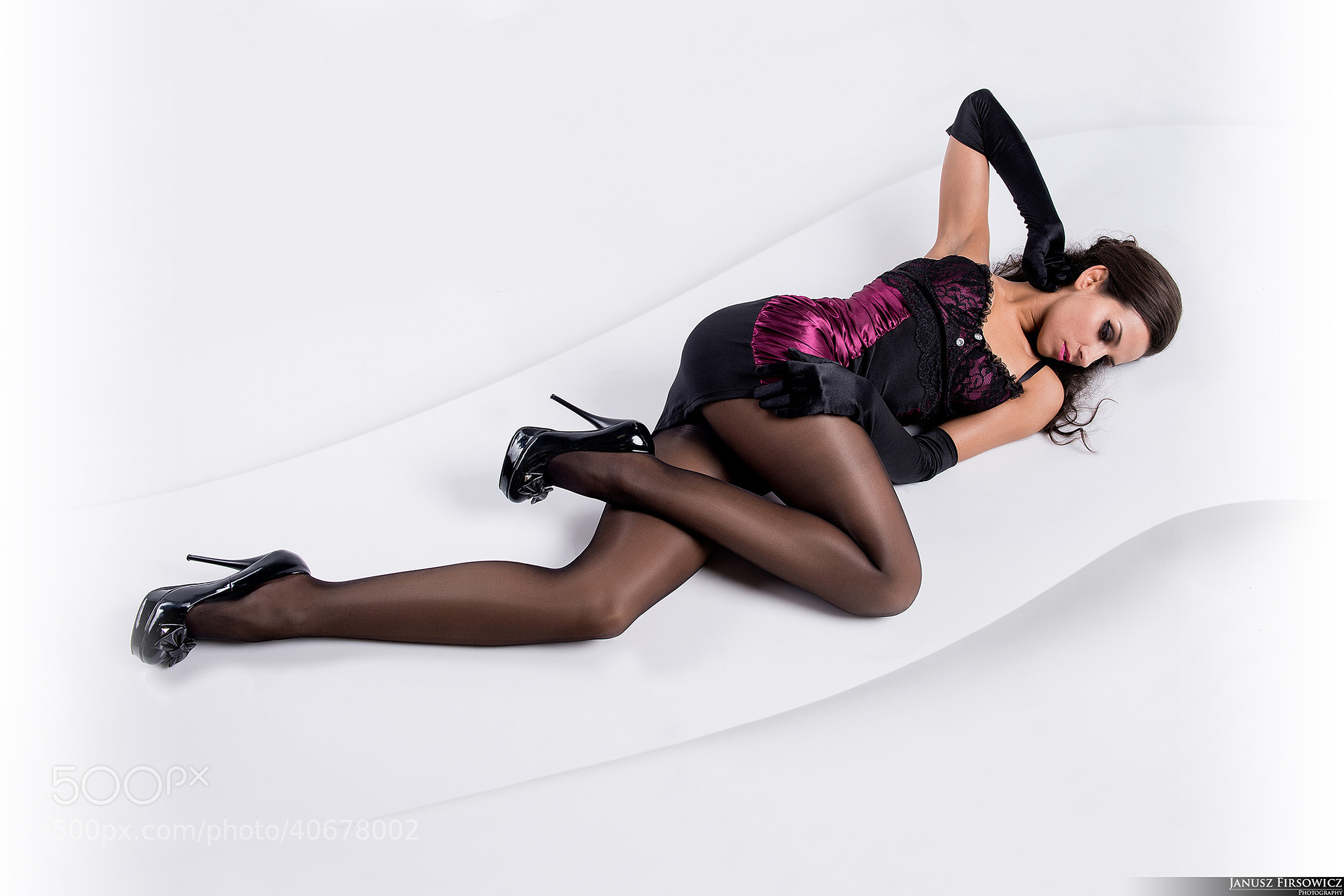Photograph Lady in nylons 4 by Janusz Firsowicz on 500px