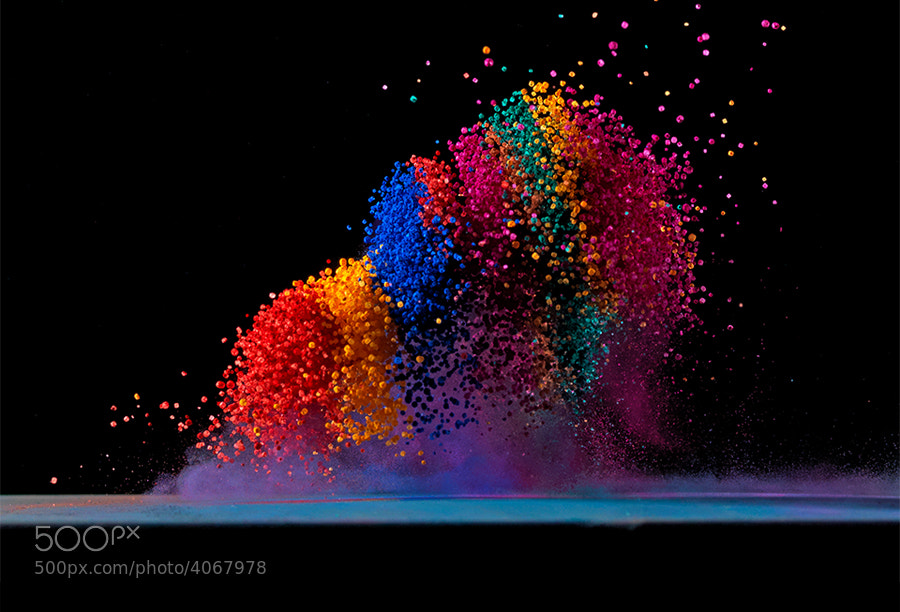 Photograph Dancing Colors No.4 by Fabian Oefner on 500px