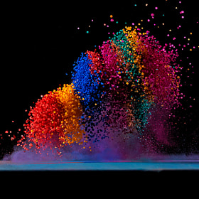 Dancing Colors No.4 by Fabian Oefner (FabianOefner)) on 500px.com