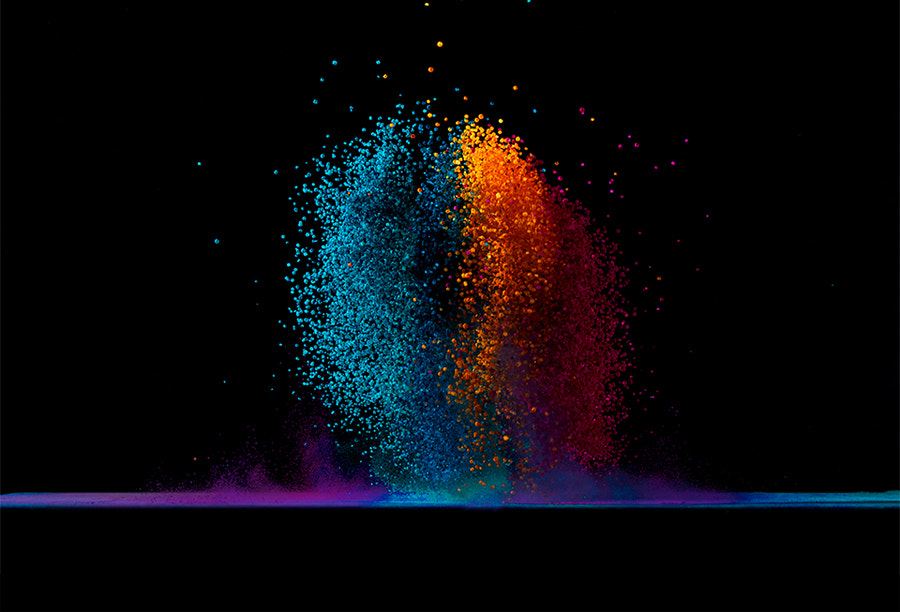 Photograph Dancing Colors No.5 by Fabian Oefner on 500px