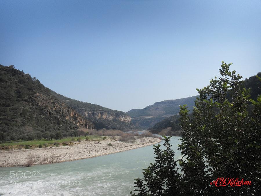 Göksu River by Yıldırım Kılıçhan on 500px.com