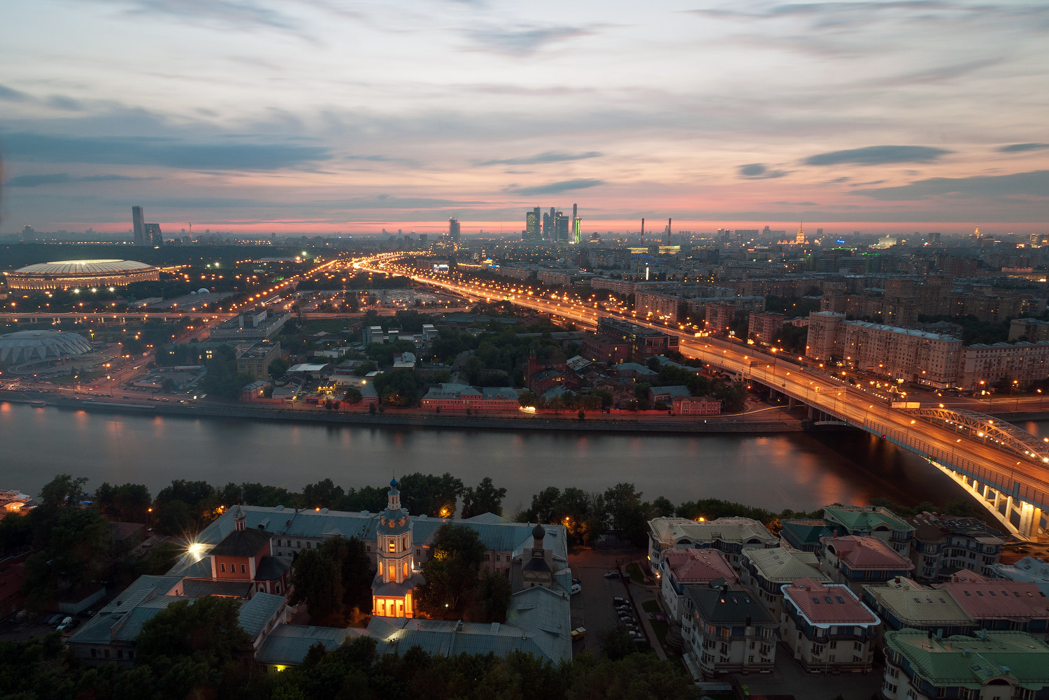 Photograph City sunset by Alexei Zaripov on 500px