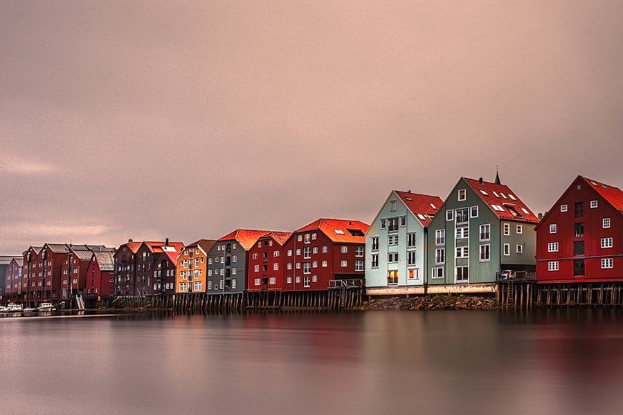 Photograph Trondheim . Nidelva . by Florencio Barroso  on 500px