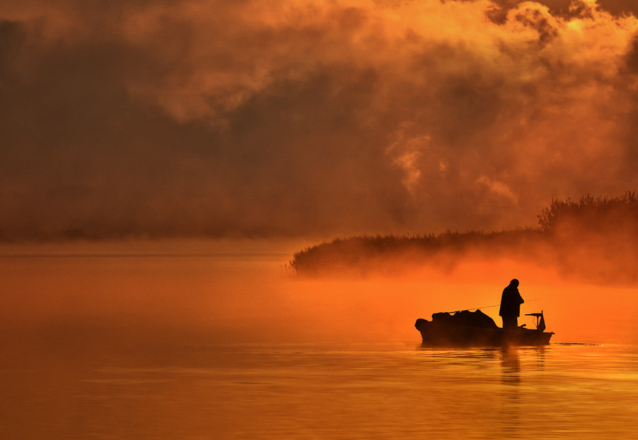 Photograph Fisherman by Don Pino on 500px