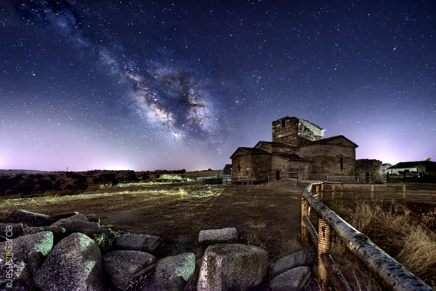 Photograph Milky Way over Melque by Jesús M. García © on 500px