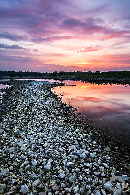Photograph Meuse River Sunset by Ramon Stijnen on 500px