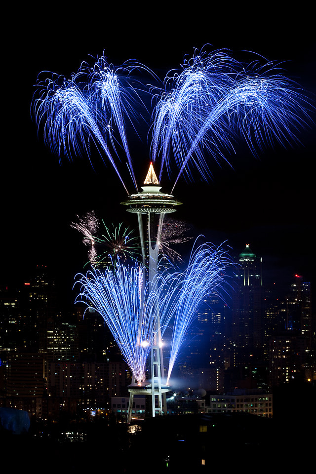 Photograph Happy New Year from Seattle by Ally Davis on 500px