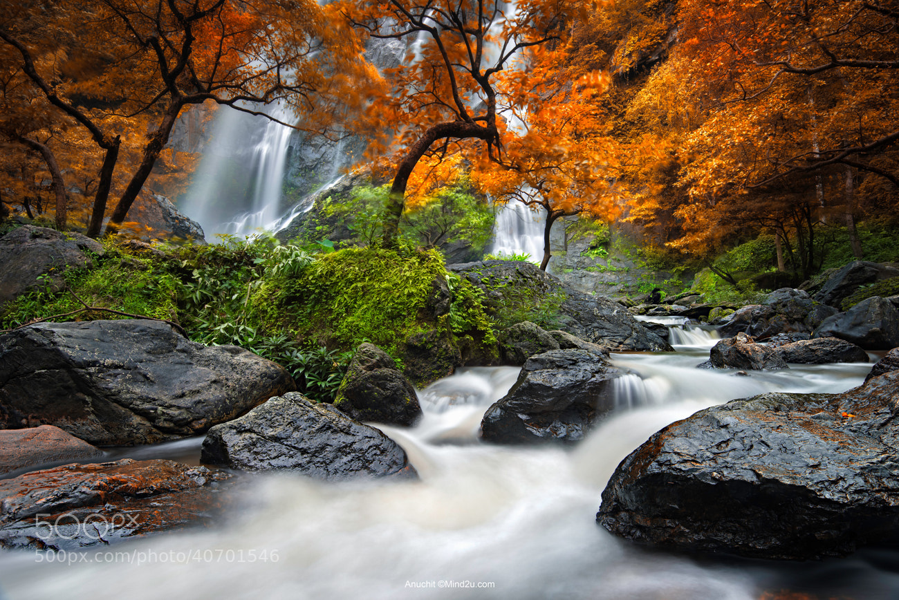 Photograph Waterfall by Anuchit นายบันทึก on 500px