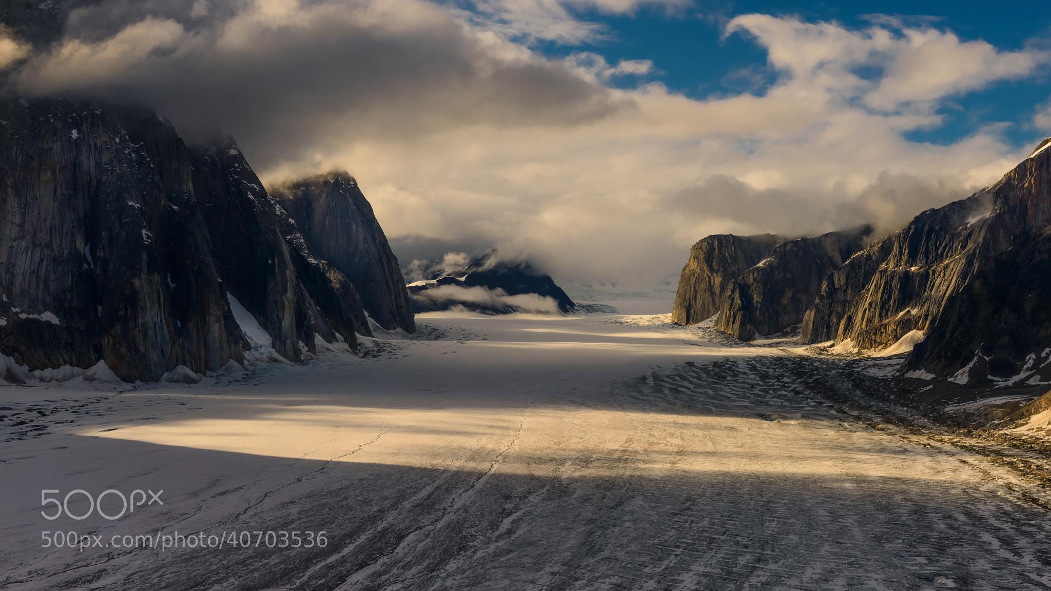 Photograph Glacier Valley by Evgeny Tchebotarev on 500px