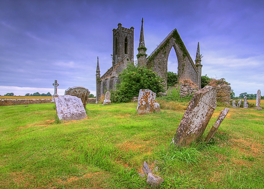 Photograph  Ballynafagh Church by Darek Gruszka on 500px