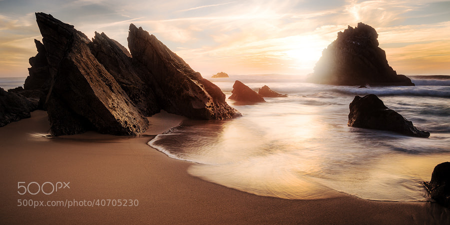 Photograph Praia Adraga by eagle_eye on 500px