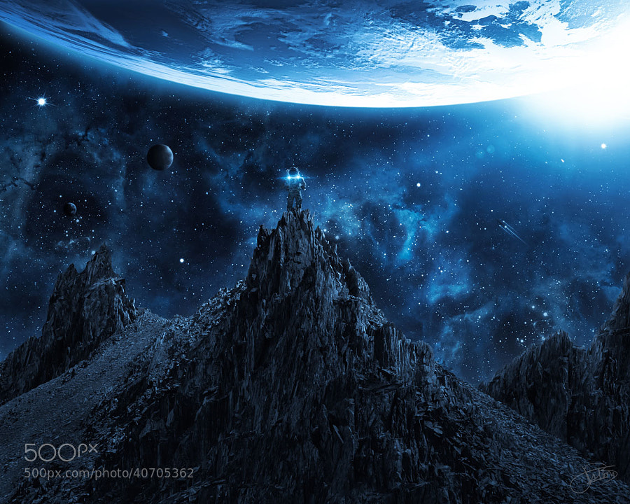 Photograph Space Exploration by Baptiste Fallon on 500px