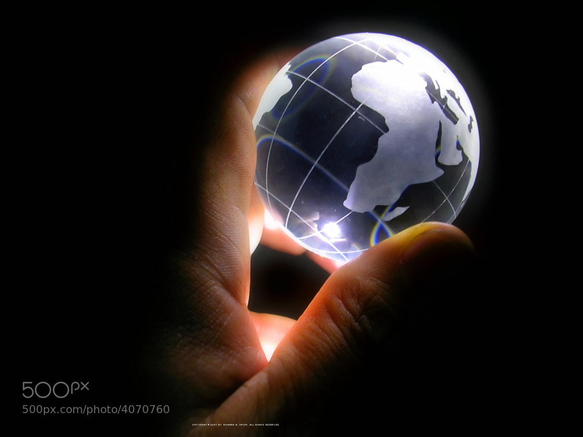 Photograph Globe Project (4 of 7): I've Got the Whole World in My Hand  by Rich Tatum on 500px