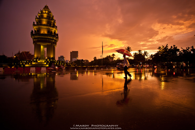 Photograph Walking under the red sky! by Mardy Suong Photography on 500px