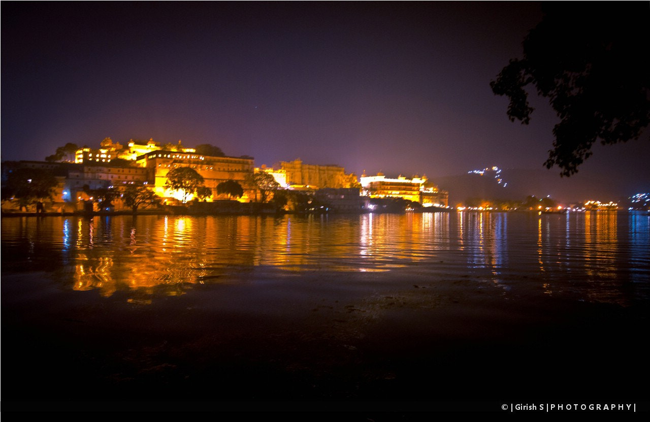 Photograph A View Of Udaipur From The Hotel !! by Girish Suryawanshi on 500px