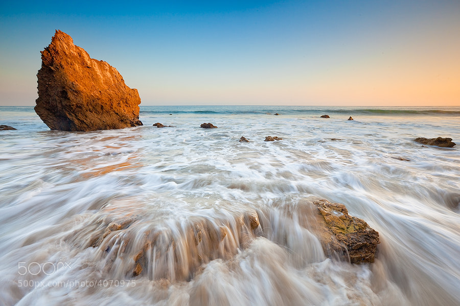 Photograph El Matador Beach by Paul Rojas on 500px