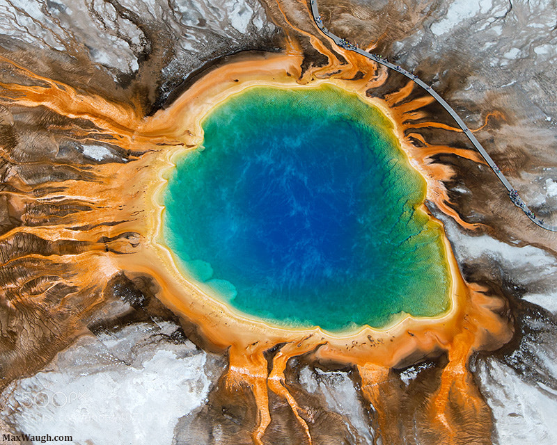 Photograph Grand Prismatic Spring by Max Waugh on 500px