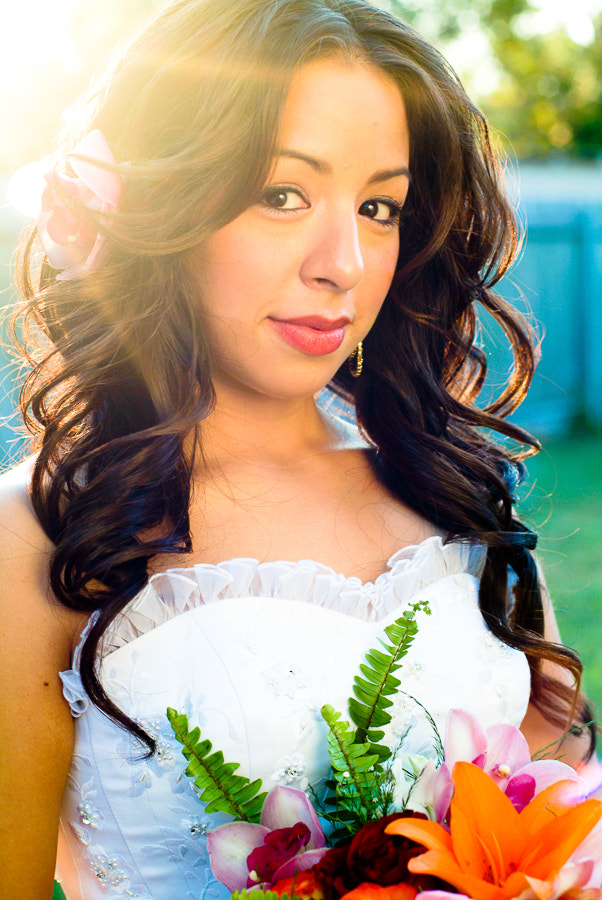 Photograph Colorful Bride in her Backyard by Rafael Sepulveda on 500px