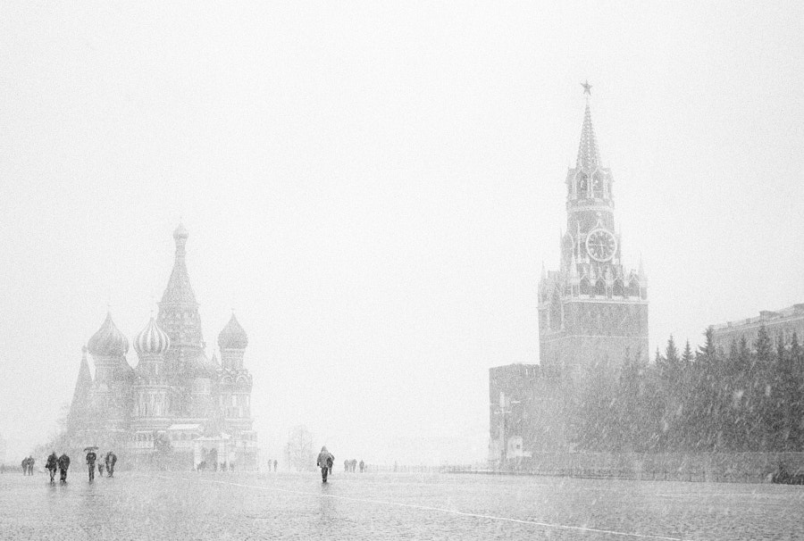April Snow in Moscow by Joel Aron on 500px.com