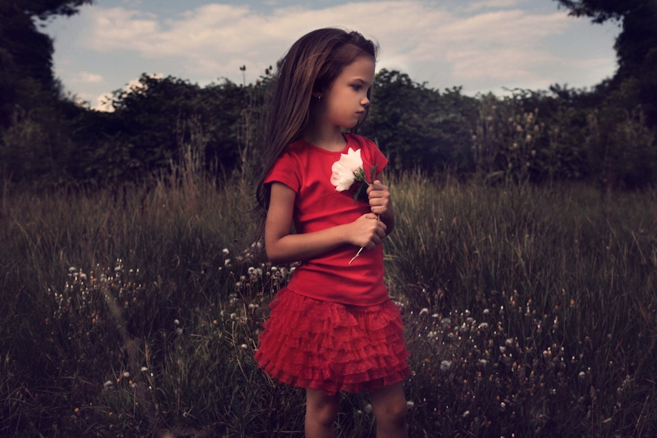 Photograph Kid with flower  by Kiril Stanoev on 500px