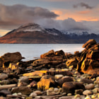 The Cuiliins from Elgol, Isle of Skye, Scotland.