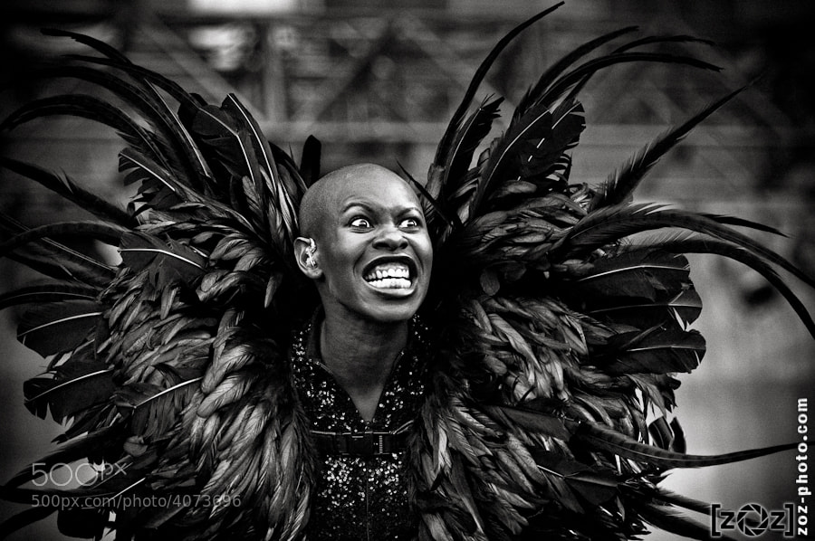 Photograph Skunk Anansie by Stéphane zOz on 500px