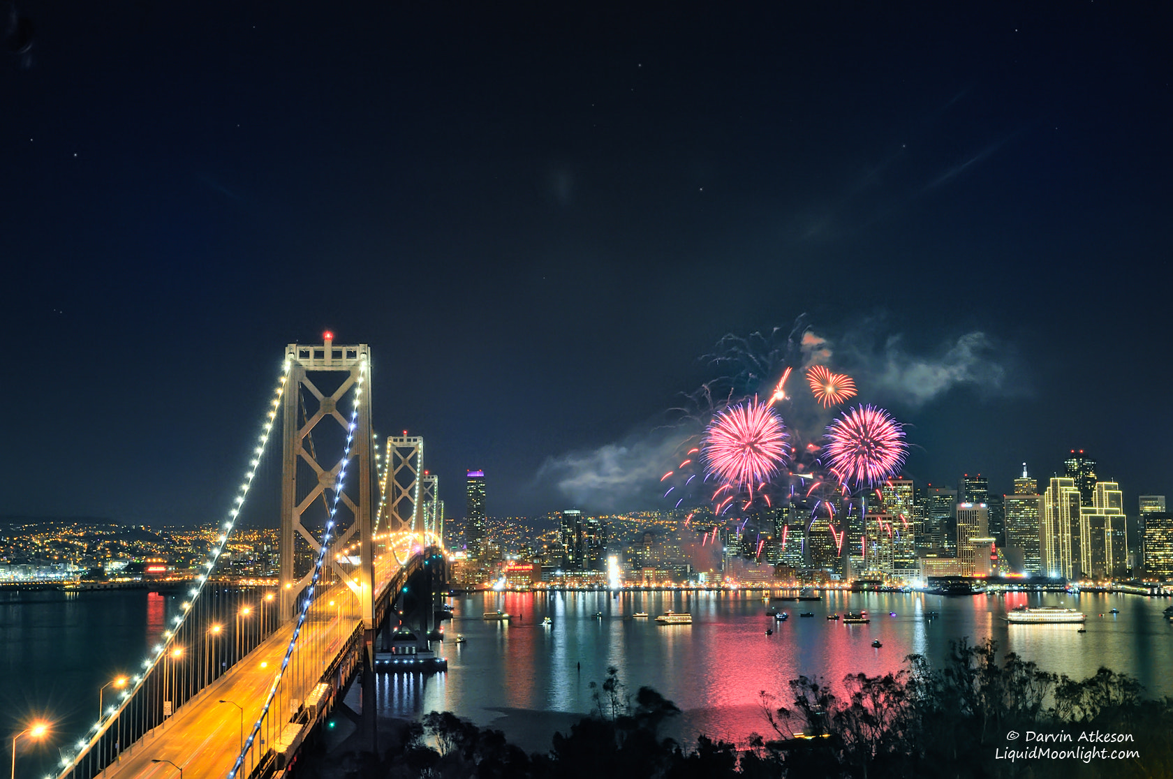 Photograph I Left My Heart in San Francisco - New Years 2012 by Darvin Atkeson on 500px