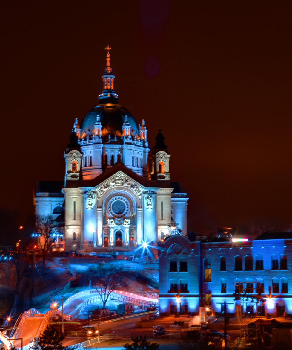 Photograph Cathedral of St Paul All Dressed Up - Red Bull Crashed Ice 2013 by Wayne Moran on 500px