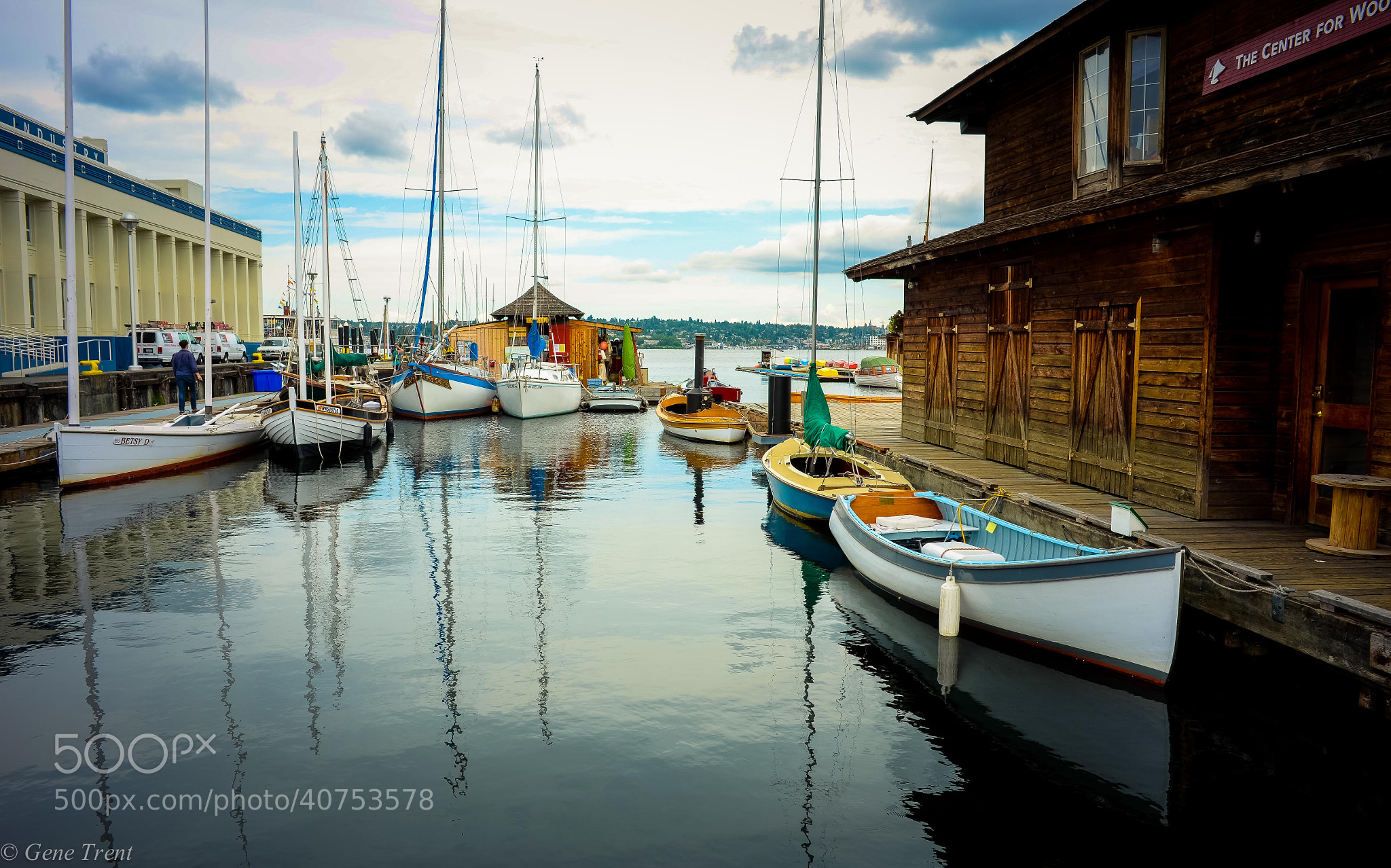 Photograph Wooden Boat Center by Gene Trent on 500px