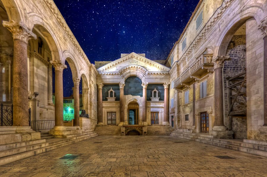 Peristil, Split, Croatia by Boris Frkovic on 500px.com