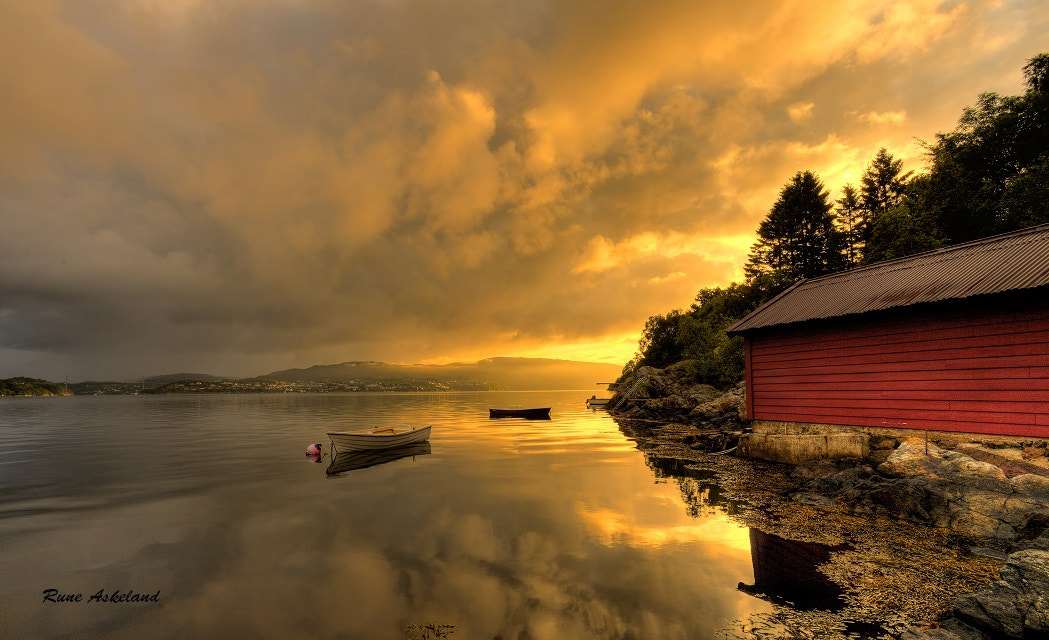 Photograph Morning has broken by Rune Askeland on 500px
