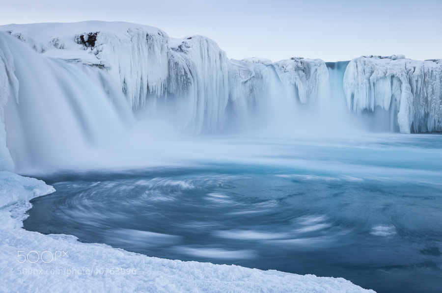Photograph Goðafoss swirls by John Q on 500px