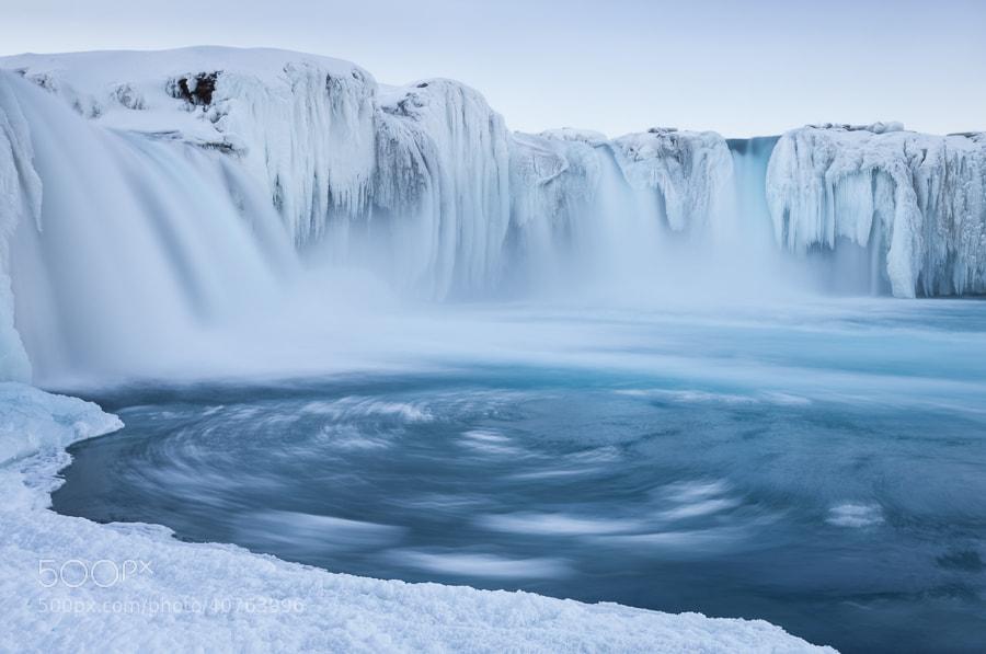 Photograph Goðafoss swirls by John Q on 500px