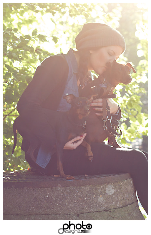 Photograph The girl with the dogs by photodesignz B.Priess on 500px