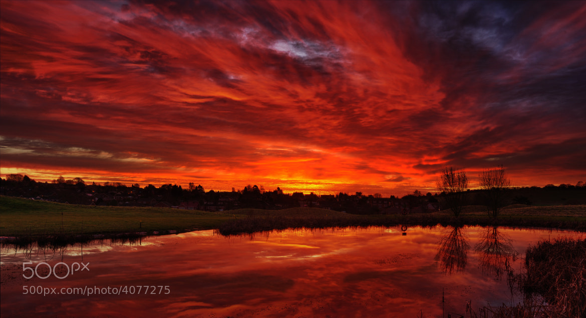 Photograph Bloody Sky by Mieke Suharini on 500px