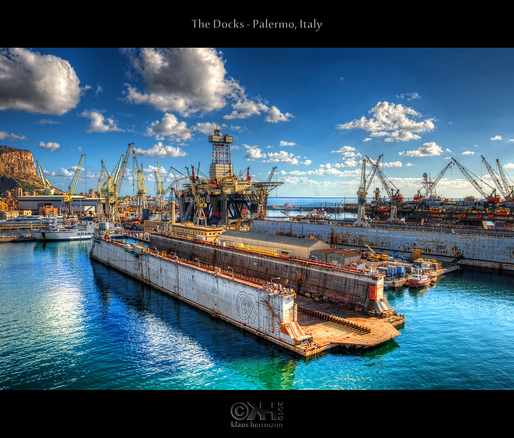 Photograph The Docks - Palermo, Italy (HDR) by Klaus Herrmann on 500px