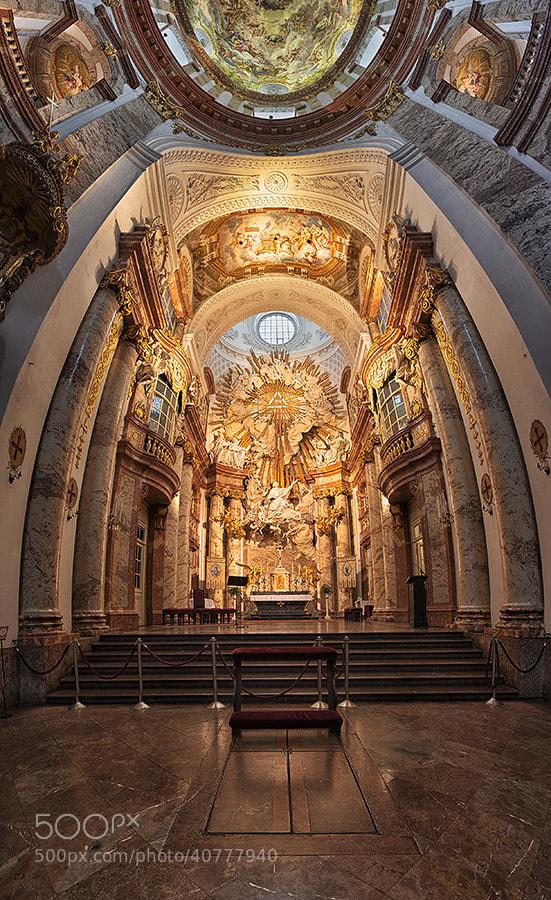 Photograph Vertorama Karlskirche Wien by Kai Böhm on 500px