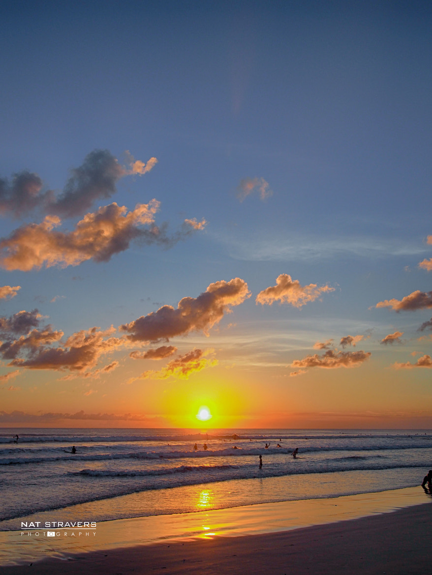 Photograph Sunset at Kuta Beach by Nathalie Stravers on 500px