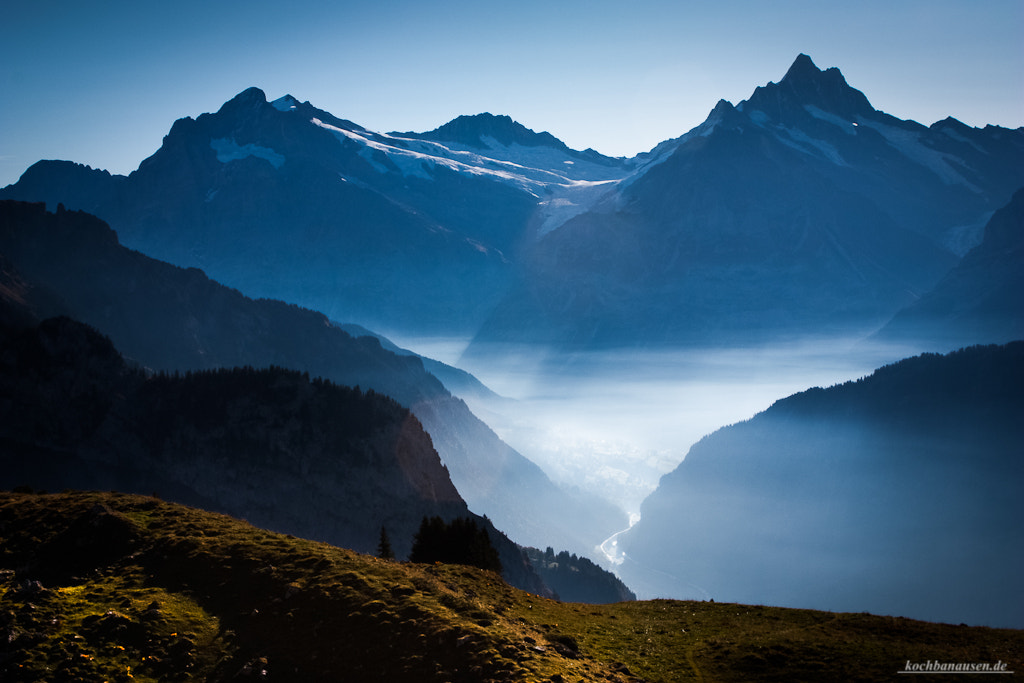 Photograph Fog over Grindelwald by Stefan Tiesing on 500px