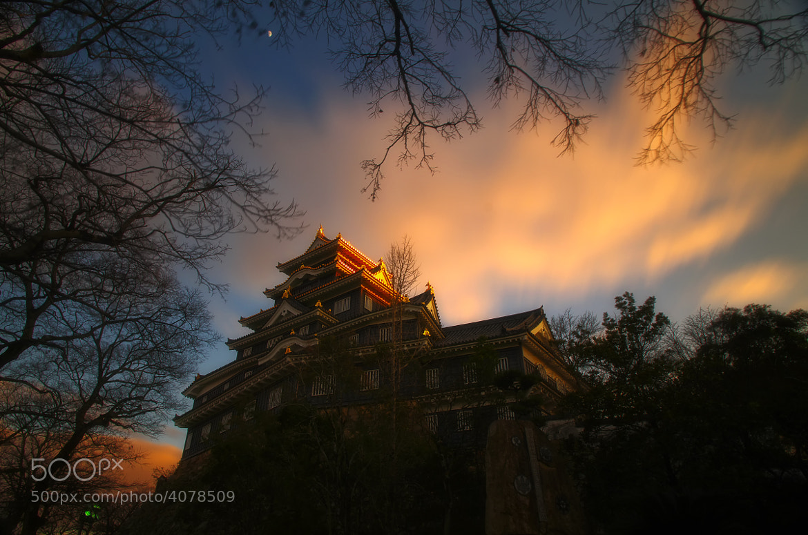Photograph Castle in the dusk (colour) by G  I on 500px