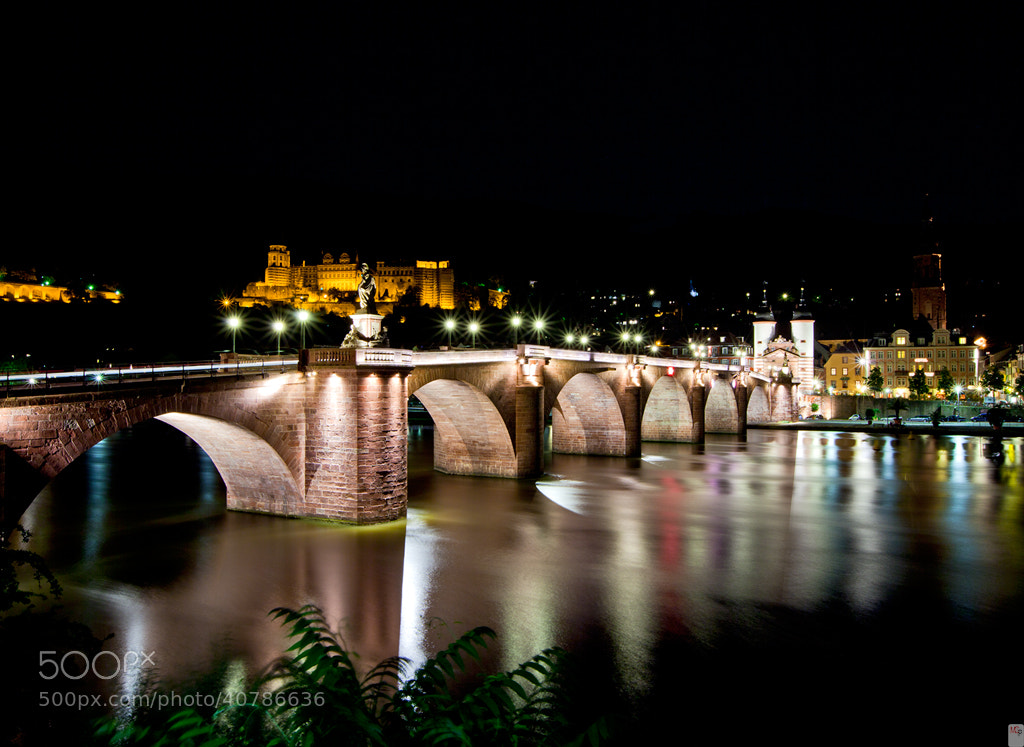 Photograph Old Bridge Heidelberg by Marc G on 500px
