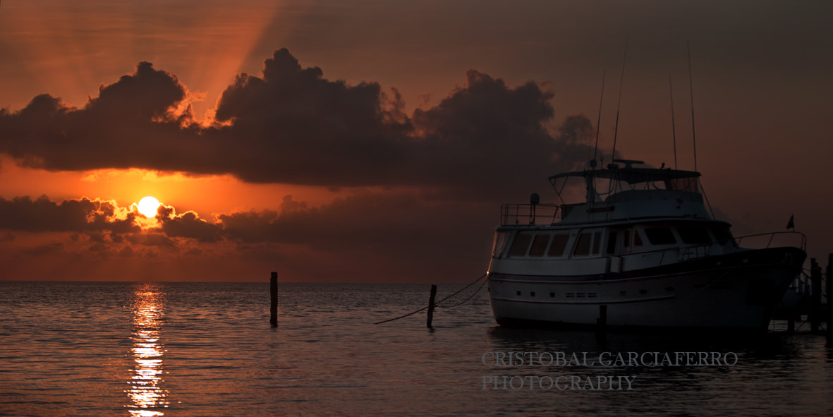 Photograph Boat and sunrise by Cristobal Garciaferro Rubio on 500px