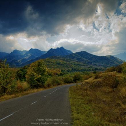 Road to Gandzasar
